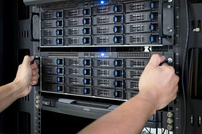 backup servers in allentown store